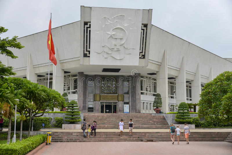 Ho Chi Minh Museum stock images