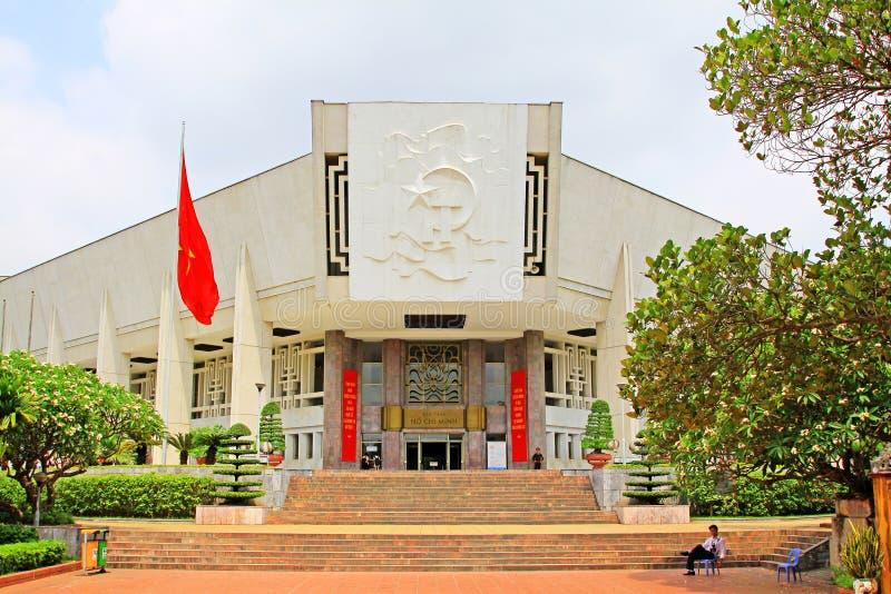 Ho Chi Minh Museum, Hanoi Vietnam royalty free stock photo