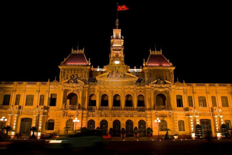Ho-Chi-Minh-Stad stock foto's