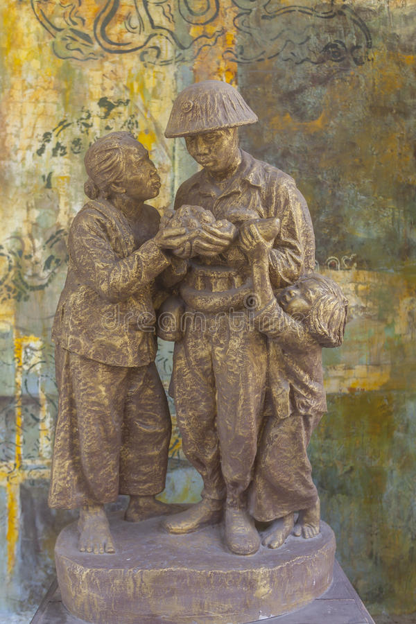 Ho- Chi Minh Stadtmuseum lizenzfreies stockbild