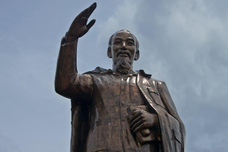 Ho Chi Minh statue stock photos
