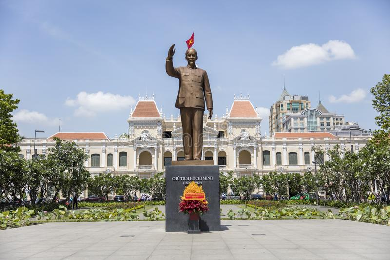 Ho Chi Minh statue royalty free stock photography