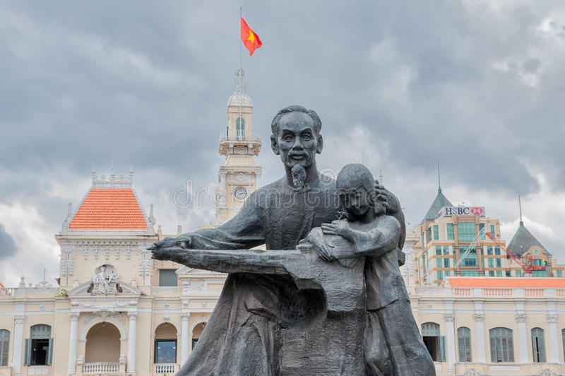 Ho Chi Minh - Uncle Ho royalty free stock image