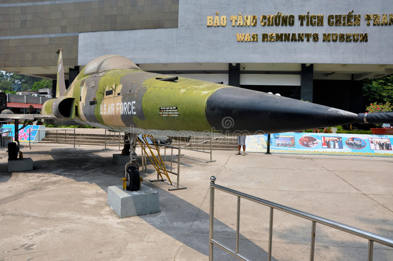 American Vietnamese War Remnants Museum, Ho Chi Minh city, Vietnam stock photography