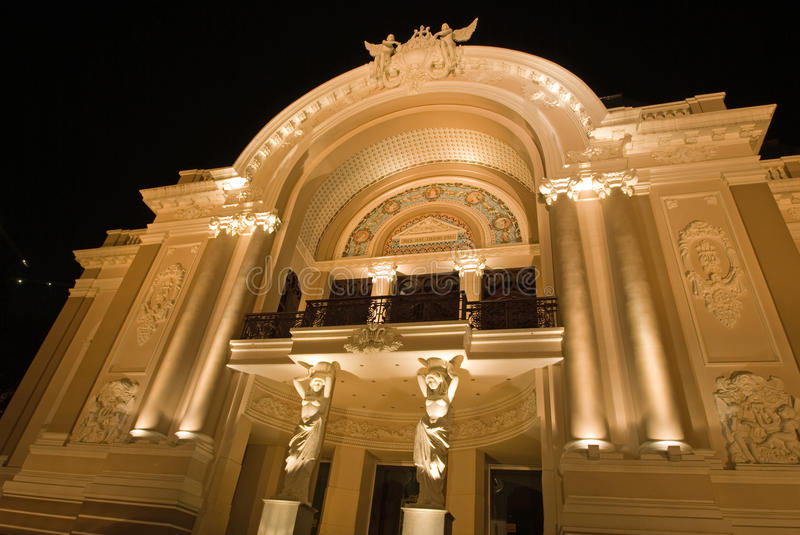 Ho Chi Minh Ville Operahouse photo libre de droits