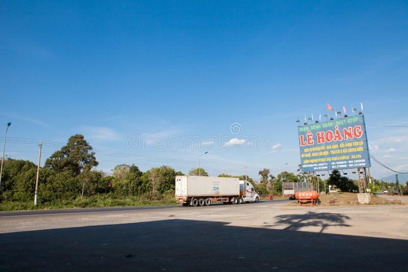 Ho Chi Minh zu Mui Ne-Verkehr stockfoto