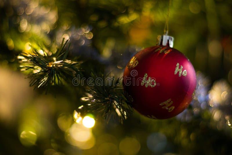 Ho Ho Ho-Flitter stockbilder
