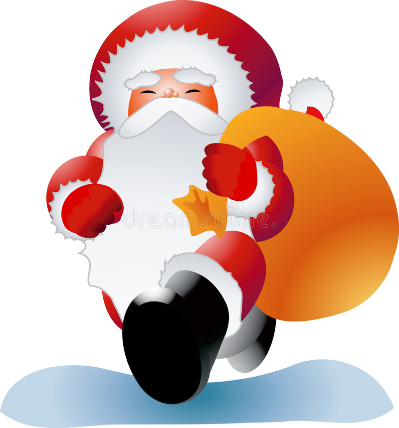 Ho Ho Ho illustration stock