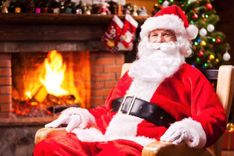 Ho Ho Ho! stock afbeelding