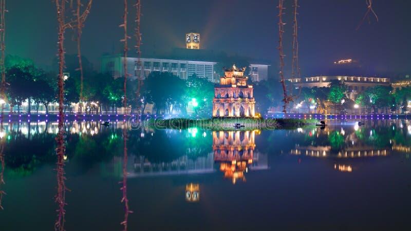 Ho Hoan Kiem,河内 免版税图库摄影