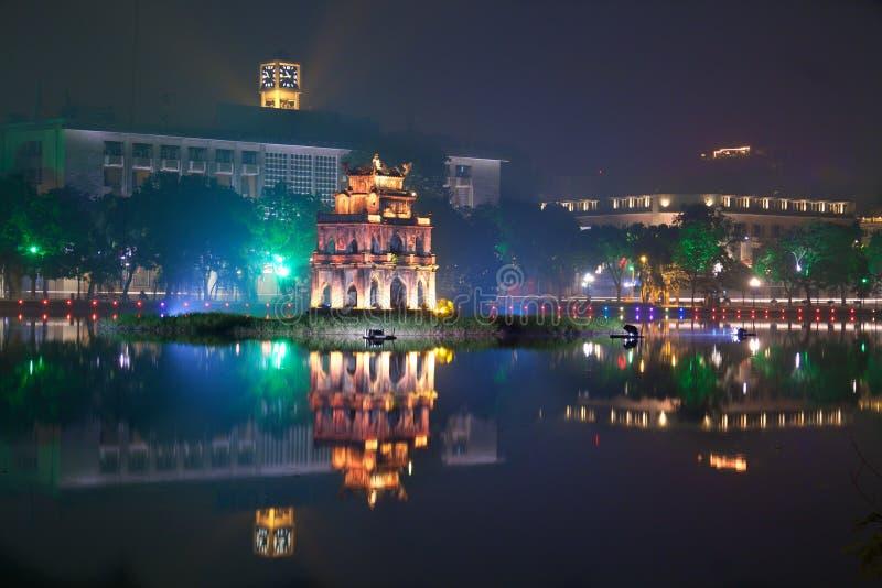 Ho Hoan Kiem, Ανόι στοκ εικόνες