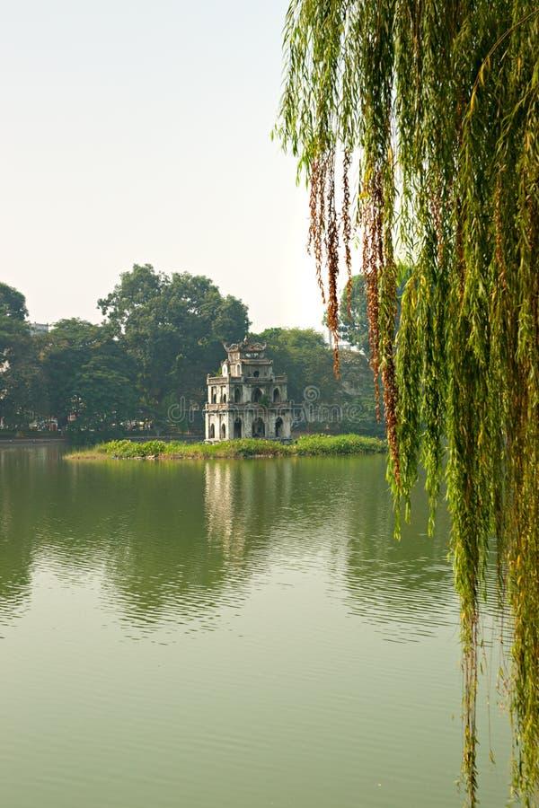 Ho Hoan Kiem, Hanoi, Vietnam, fotografia stock libera da diritti