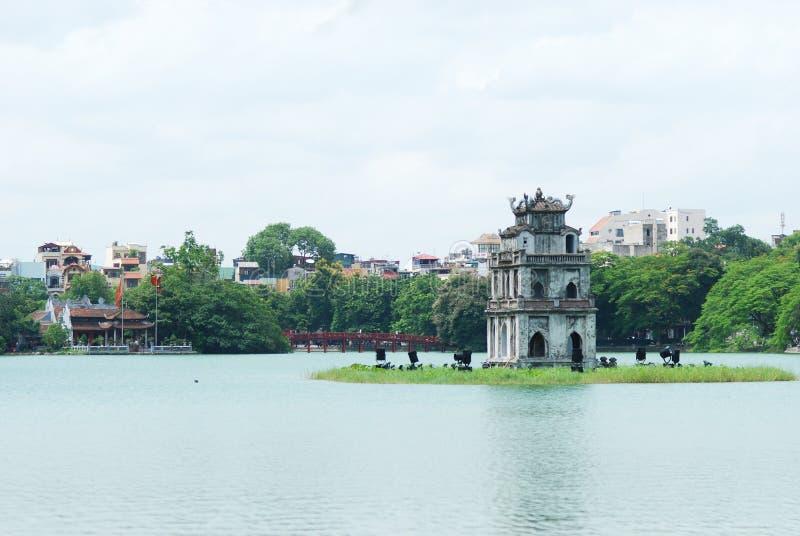 Ho Hoan Kiem, Hanoi, Vietnam. lizenzfreies stockbild