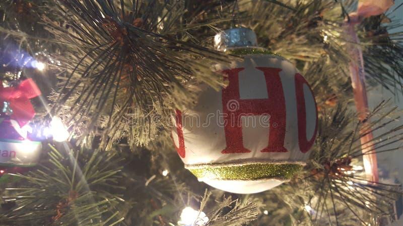 Ho Ho Merry Christmas photo libre de droits