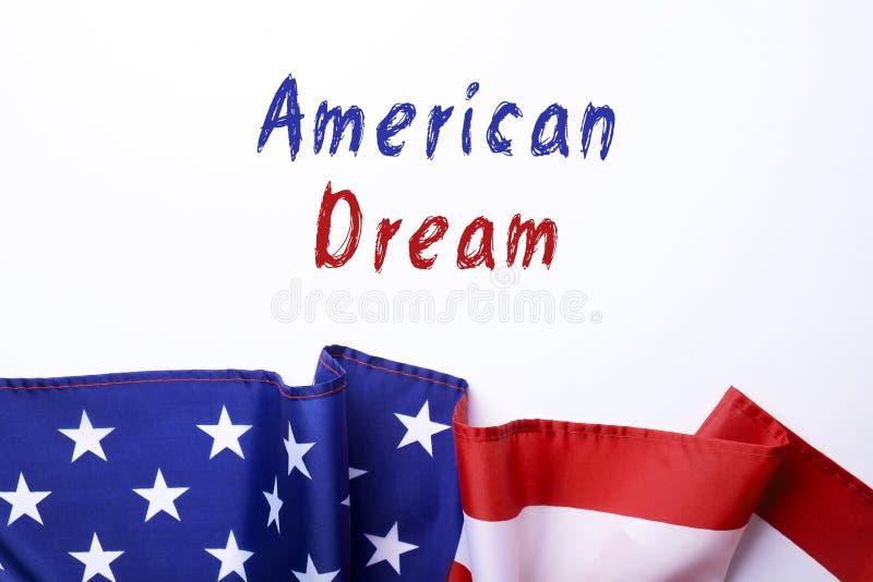 Ho un testo di sogno su vecchio fondo di legno, junior di Martin Luther King Fondo di giorno fotografia stock