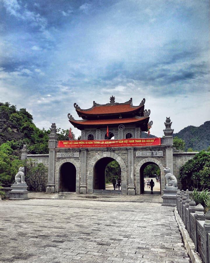 Hoa LU del tempio fotografia stock libera da diritti