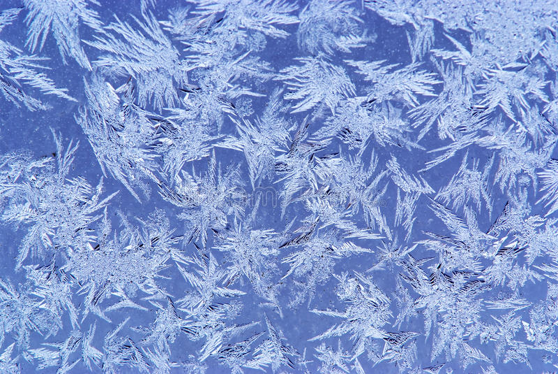 Hoar-frosthintergrund lizenzfreie stockbilder