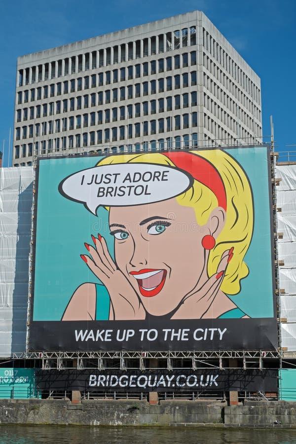 WAKE UP TO THE CITY royalty free stock photos