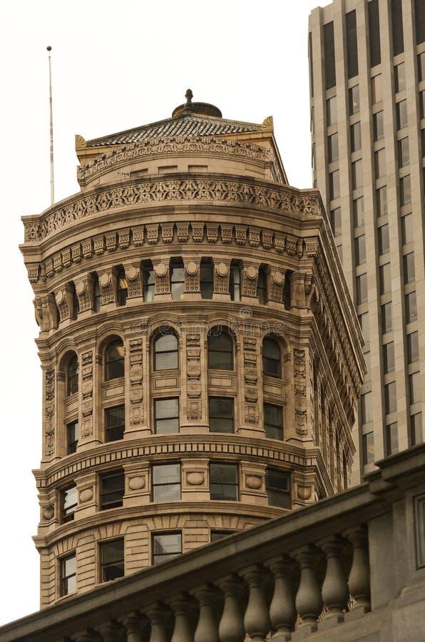 Hobart Building en vriend-San Francisco Landscapes stock afbeelding