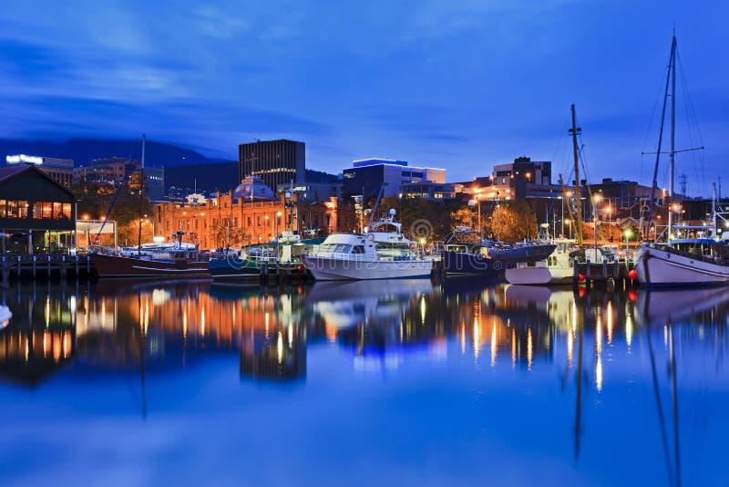 Hobart Harbour Yacht Gallery fotos de stock