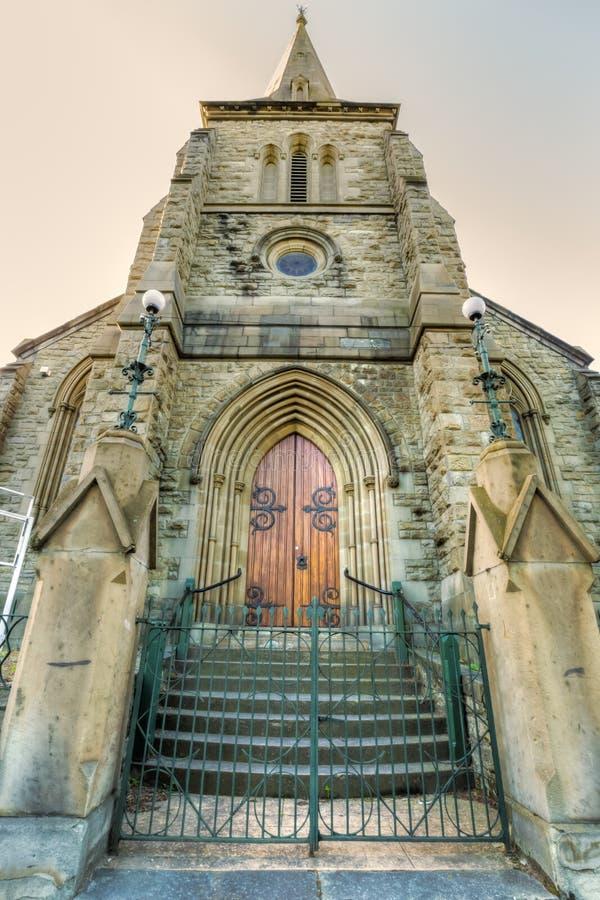 Hobart Historic Church stock foto