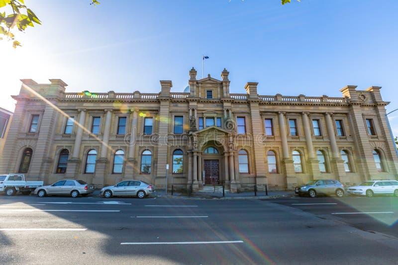 Hobart Tasmanien lizenzfreie stockfotografie