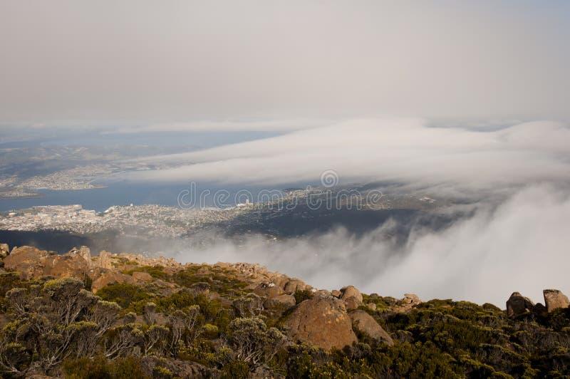 Hobart - Tasmanien stockfoto