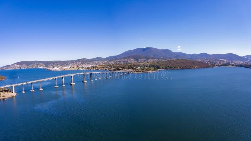 Hobart, Tasmanige royalty-vrije stock fotografie