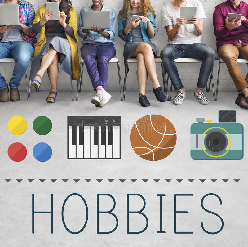 Free Hobbies Leisure Lifestyle Pastime Fun Concept Royalty Free Stock Images - 85089069
