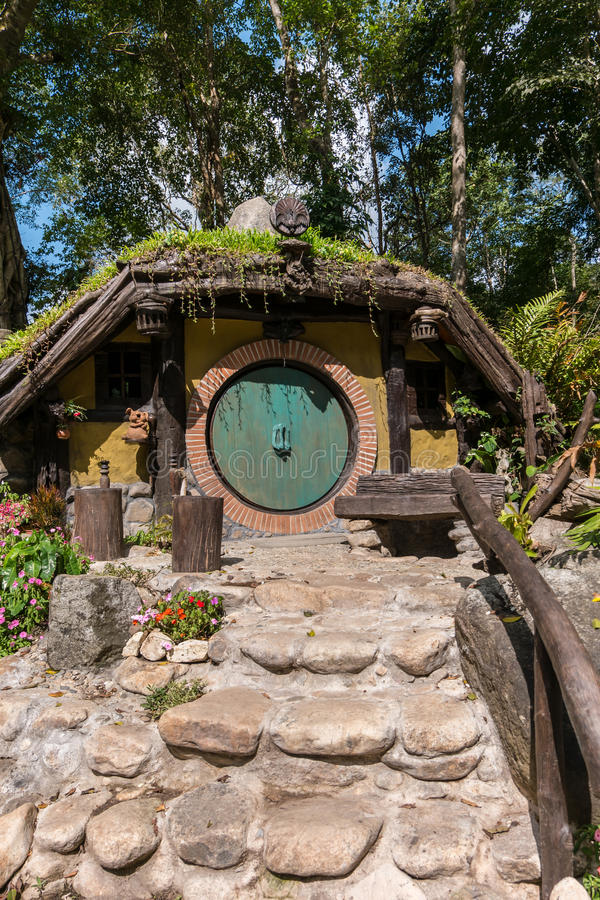 hobbit房子 库存图片