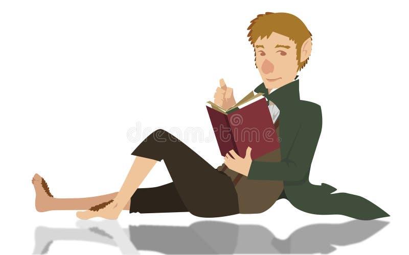 Hobbit libre illustration