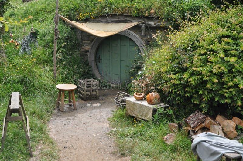 Hobbit dom zdjęcia stock
