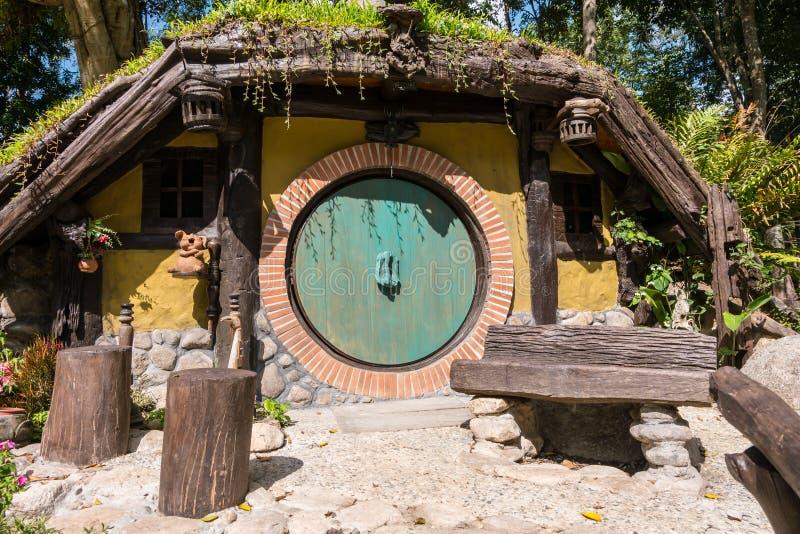 Hobbit dom obraz royalty free