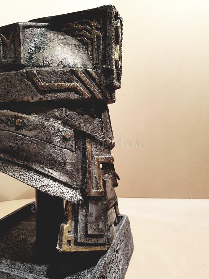hobbit 45props do capacete do anão fotografia de stock