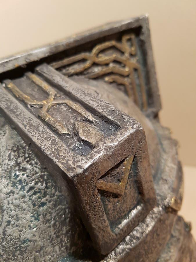 hobbit 45props do capacete do anão imagens de stock