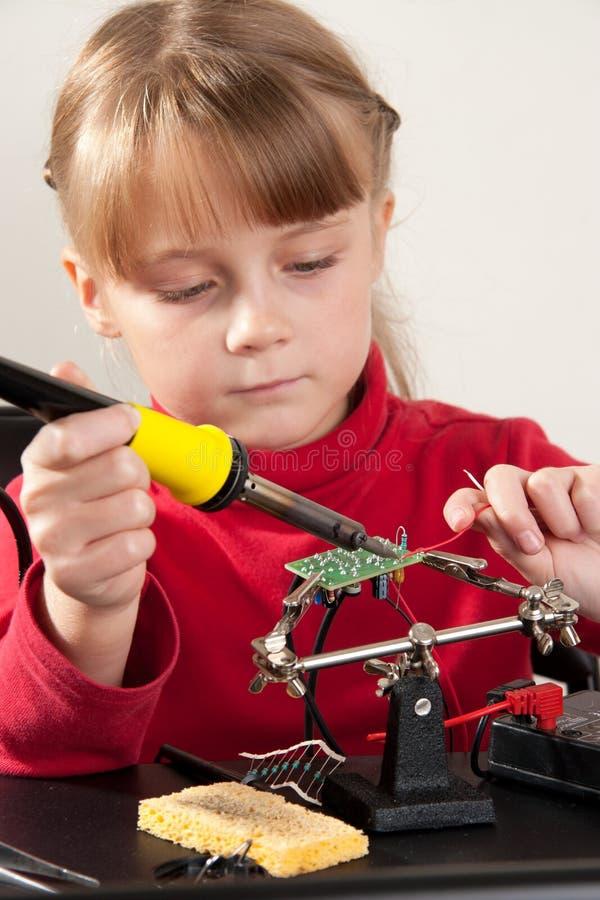 Hobby del bambino immagine stock libera da diritti