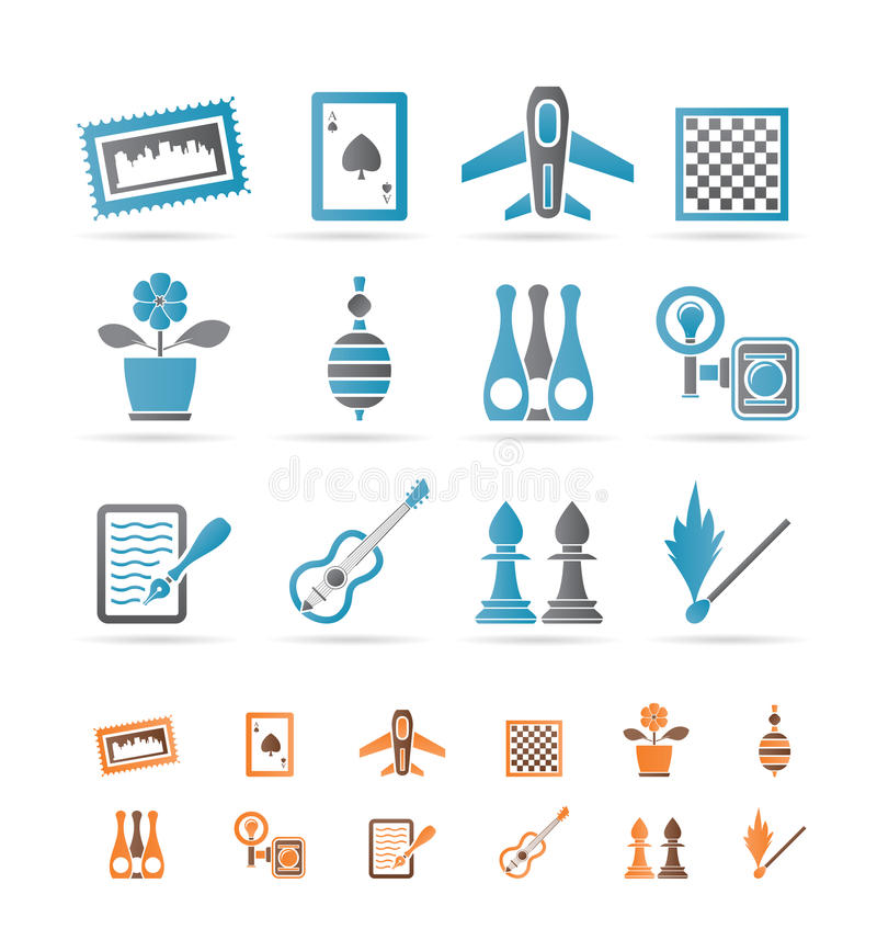 Download Hobby, Leisure And Holiday Objects Stock Vector - Image: 18271128