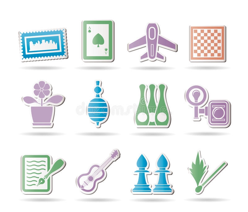 Download Hobby, Leisure And Holiday Objects Stock Vector - Image: 18705595