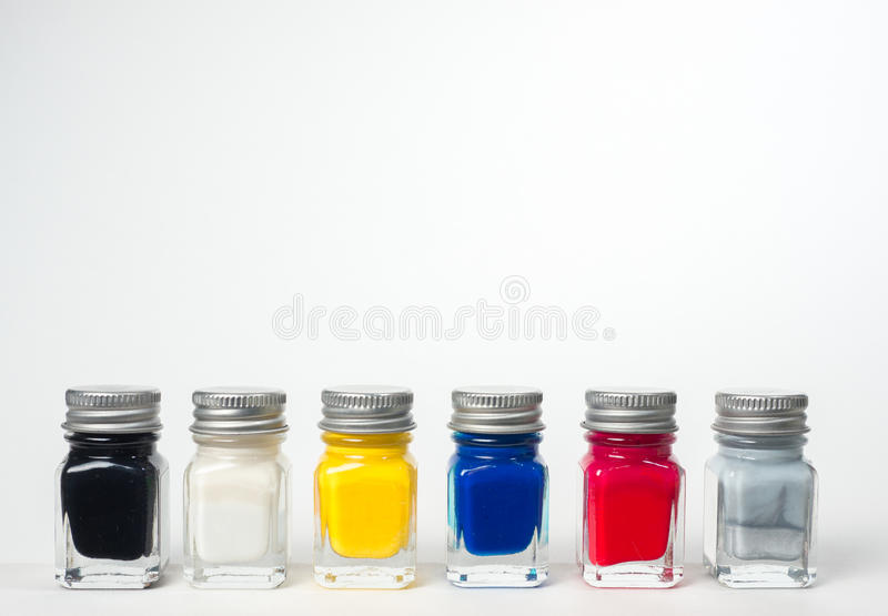 Download Hobby Paint stock image. Image of gloss, colour, bottle - 37546459
