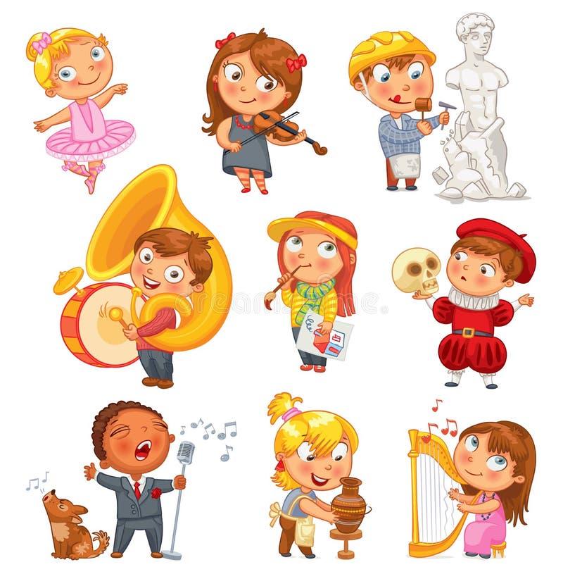hobby postać z kreskówki śmieszne royalty ilustracja