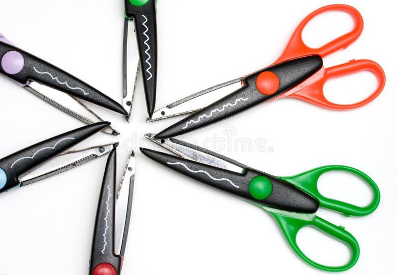 Hobby scissors royalty free stock photos
