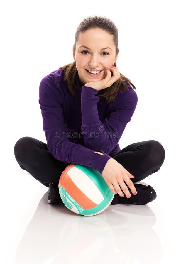 Hobbyist волейбола стоковые изображения rf