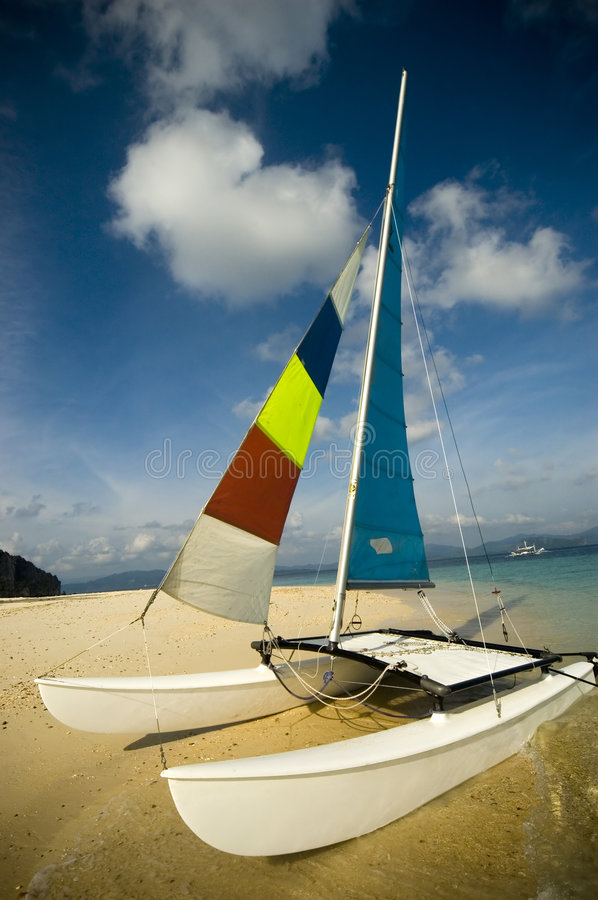 Hobie Cat royalty free stock photos