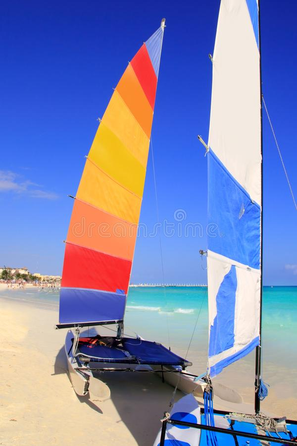 Download Hobie Cat Mayan Riviera Playa Del Carmen Mexico Stock Photo - Image: 18738626