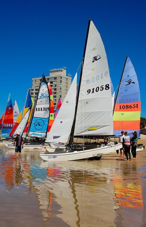 Hobie 16 nacionales Port Elizabeth del SAS foto de archivo libre de regalías