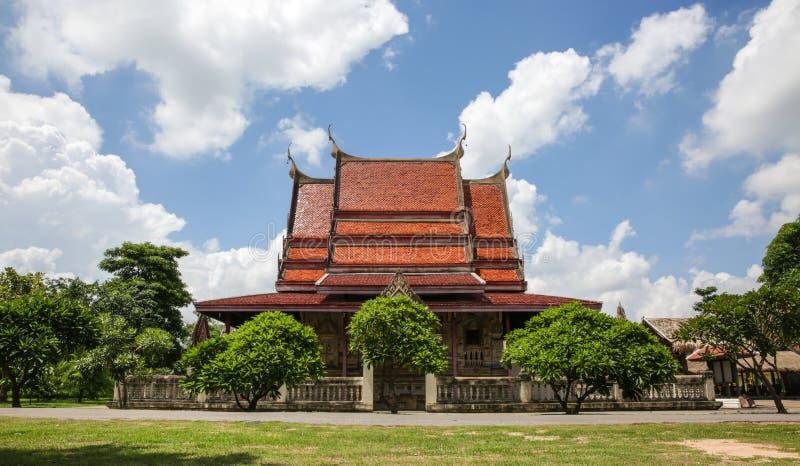 Hobtam sim som är esan på den Wat sawateen , Khonkaen Thailand royaltyfria bilder