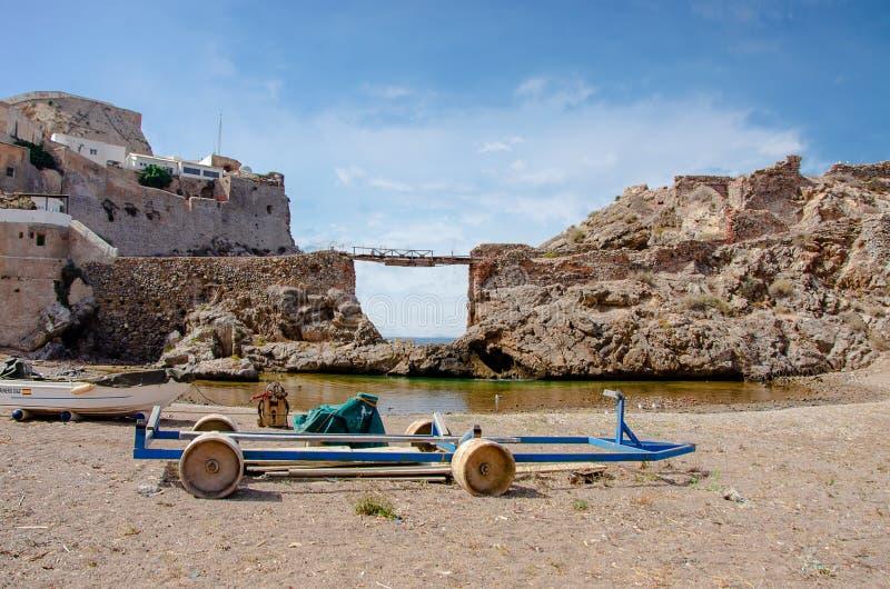 Hoceima Marrocos do al de Bades imagens de stock