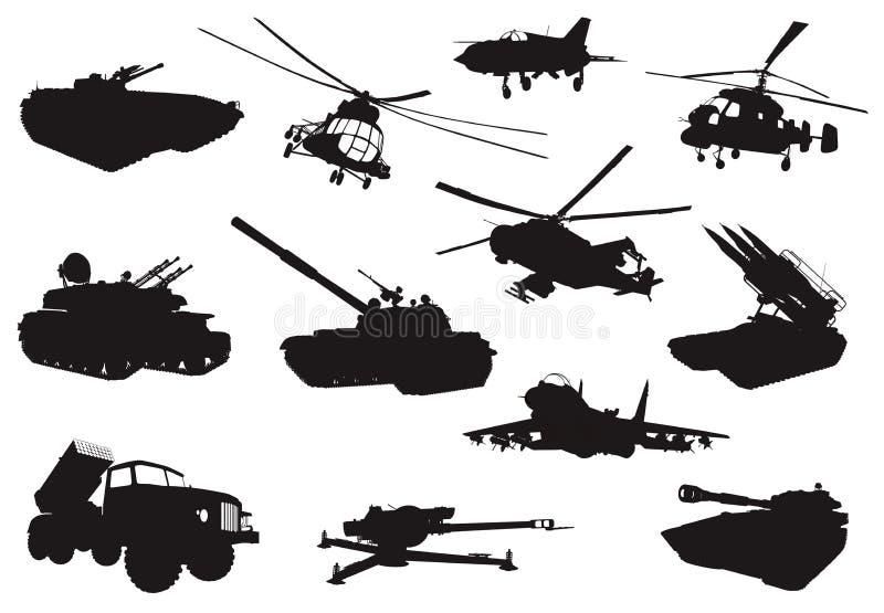 Militärsatz stock abbildung