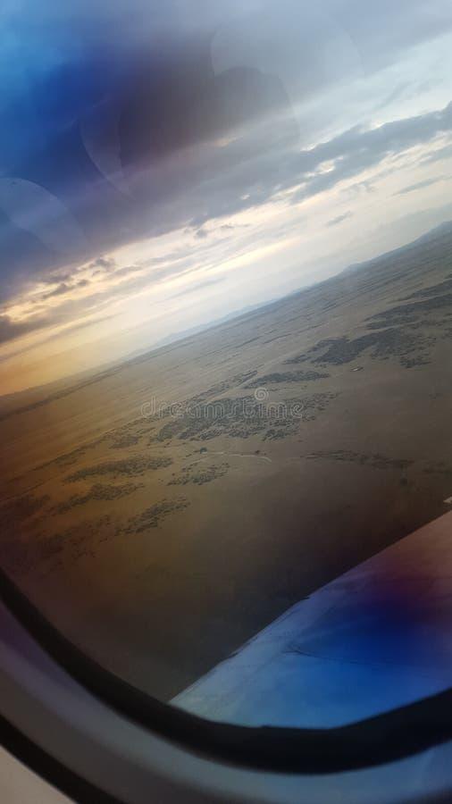 Hoch fliegen stockfoto