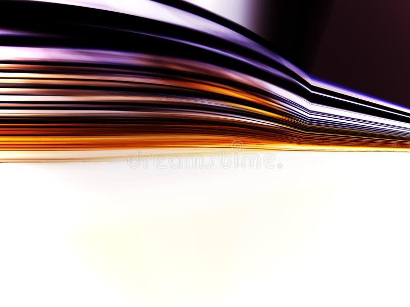 Hochgeschwindigkeitsbewegung lizenzfreie abbildung